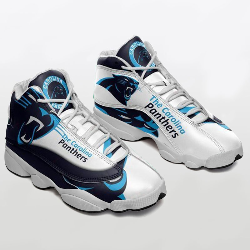Carolina Panthers Air Jordan 13 Sneaker