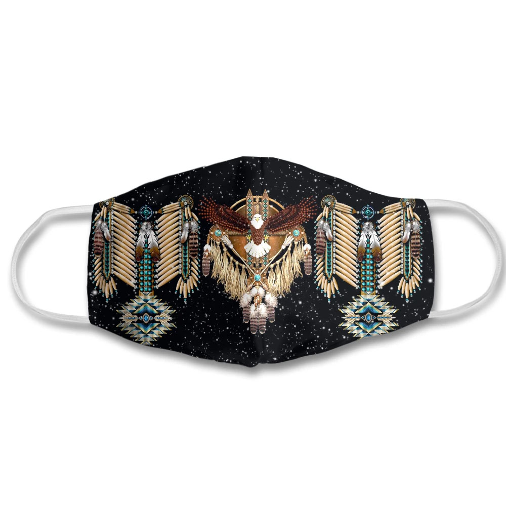 Eagle Native American Face Mask with PM2.5 Filter